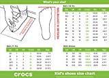 Crocs Kids' Classic Clog , White, 8 Toddler