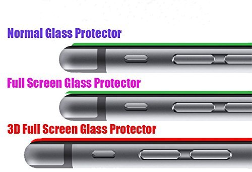 iPhone 6 Color Screen Protector [Metal + Tempered Glass], UTLK 3D Hot Pink Full Front Hybrid Titanium Alloy Sticker Built-in Tempered Glass Body Sticker 2.5 Round Edge 9H Hardness Premium Tempered Glass Screen Protector For iPhone 6 4.7 inch (Seamless Style Rose)