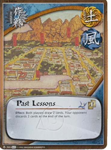 Naruto Card - Past Lessons 703 - Path of Pain - Common - Foil - 1st Edition