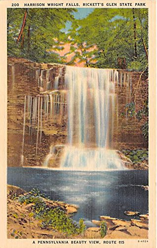 Ricketts Glen State Park, Pennsylvania Postcard from Old Postcards