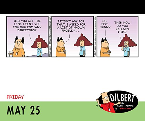 Free Comic Book Day Dubai: Dilbert 2018 Day-to-Day Calendar