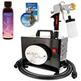 Best Spray Tanning Machines - Salon Pro Plus Sunless Airbrush HVLP Spray Tanning Review