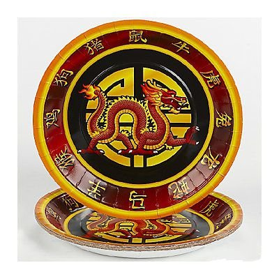 Chinese New Year Dinner Plates (Chinese Plates)