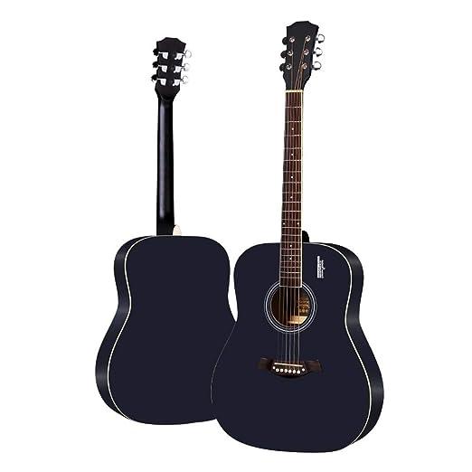BAIYING-Guitarra Acústica Balada Guitarra De Madera Principiante ...