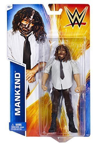 Mankind Wwe Costume (WWE Figure Basic Series #45 - Superstar #3, Mankind)