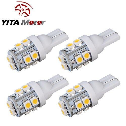 YITAMOTOR Wedge 10 SMD White Light