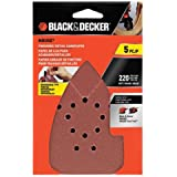 Black & Decker BDAM220 220G Mouse Sandpaper, 5-Pack
