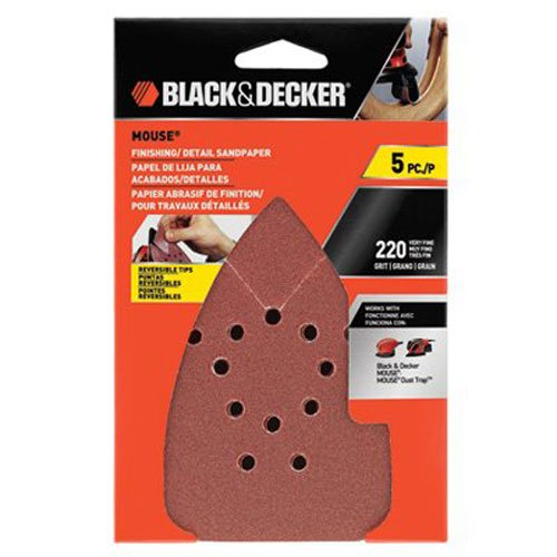 black-decker-bdam220-220g-mouse-sandpaper-5-pack