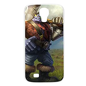 Sion-005 League of Legends LoL Samsung Galxy S4 I9500/I9502 Plastic White
