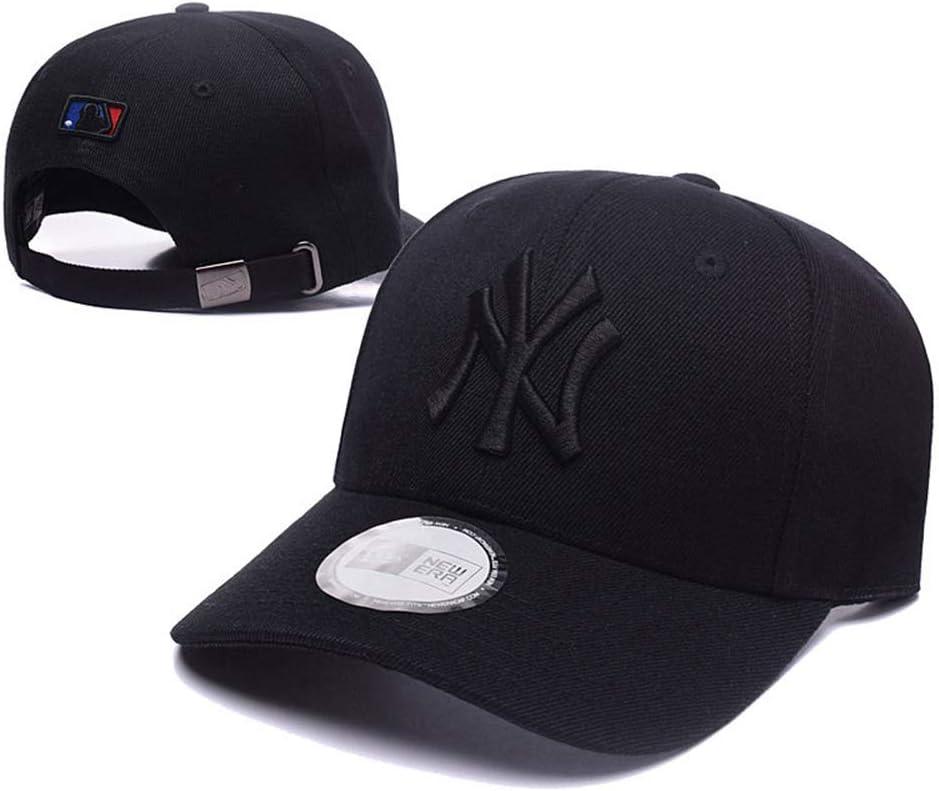 Xiaoha Store NY Baseball Hat Adult Men /& Women for New York Yankees Cap White hat-Black Logo