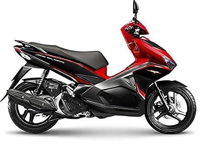 Amazon.com : NEW Honda Air Blade 125cc Sports Red Black Motorcycle