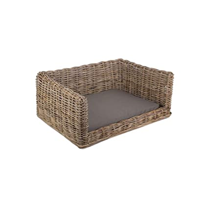Brilliant Red Hamper Large Rattan Dog Sofa Bed L Amazon Co Uk Andrewgaddart Wooden Chair Designs For Living Room Andrewgaddartcom