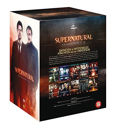 Supernatural (Seasons 1-10) - 59-DVD Box Set ( Super natural - Seasons One thru Ten (218 Episodes) ) [ NON-USA FORMAT, PAL, Reg.2 Import - Netherlands ]