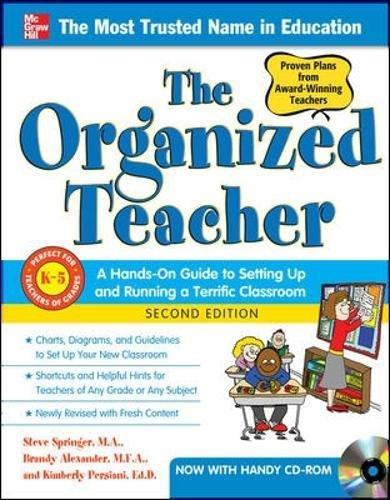 the organized teacher 2nd edition 感想 steve springer brandy 読書