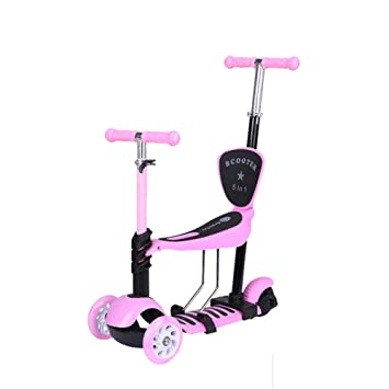 Patinete Scooter 3 en 1 con Asiento Desmontable Ideal para ...