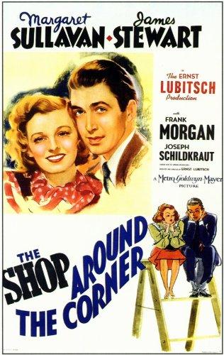 The Shop Around the Corner Movie Poster (11 x 17 Inches - 28cm x 44cm) (1940) Style B -(James Stewart)(Margaret Sullavan)(Frank Morgan)(Joseph Schildkraut)