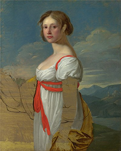 French Revolution Female Costume ('Italian Portrait Of A Woman ' Oil Painting, 18 X 23 Inch / 46 X 57 Cm ,printed On Polyster Canvas ,this High Resolution Art Decorative Prints On Canvas Is Perfectly Suitalbe For Game Room Artwork And Home Artwork And Gifts)