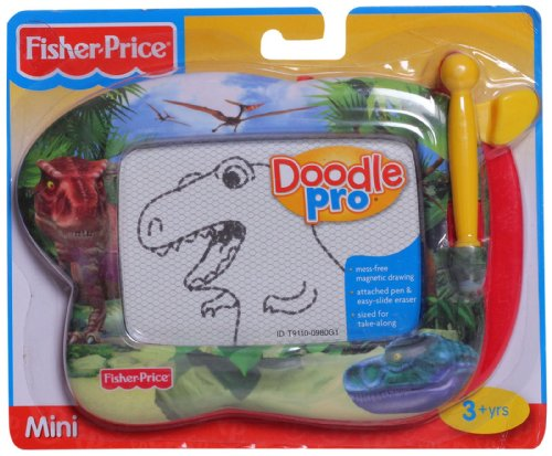 Fisher-Price Doodle Pro Doodle Pro Designs Mini Dino (Travel Price Fisher Doodle)