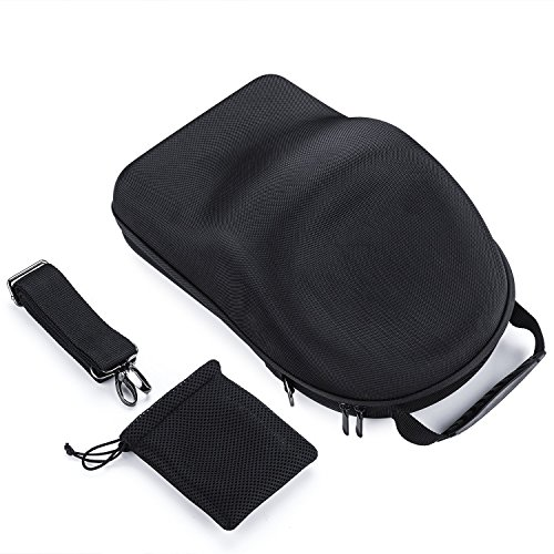 Rantow EVA Waterproof Travel Carrying Case for DJI Goggles VR Glasses Portable Hard Bag Storage Hardshell Shoulder Bag With Belt