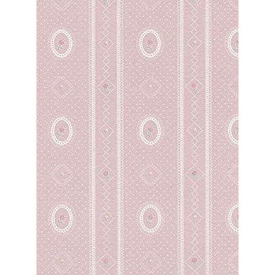 Melody Jane Dollhouse Cameo Stripe Reverse Grey Miniature Print Wallpaper 3: Toys & Games