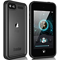 Temdan iPod Touch 5/6 IP68 Waterproof Case with Kickstand Shockproof Waterproof Case for iPod Touch 5/6