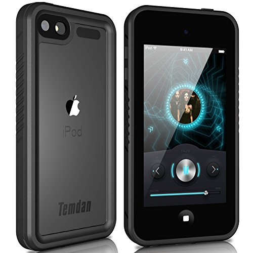 Temdan iPod Touch 5/6 IP68 Waterproof Case Biult in Screen Protector Shockproof Case for iPod Touch 5/6