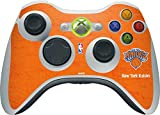 NBA New York Knicks Xbox 360 Wireless Controller Skin - New York Knicks Orange Primary Logo Vinyl Decal Skin For Your Xbox 360 Wireless Controller