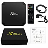 [2018 LATEST VERSION] SHOEKI X96 Mini Android 7.1 TV BOX 1GB 8GB AMLOGIC S905W QUAD CORE SUPPORT 2.4G WIFI H.265 X96MINI MEDIA PLAYER