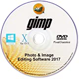 GIMP 2017 Photo Editor Premium Professional Image Editing Suite for PC Windows 10 8 8.1 7 Vista XP & Mac OS X