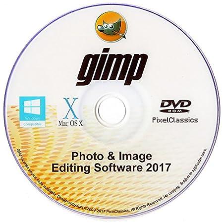 GIMP 2017 Photo Editor Premium Professional Image Editing Software for PC Windows 10 8.1 8 7 Vista XP & Mac OS X