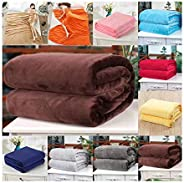 DONET Ultra Soft Flannel Blanket,Sofa Bed Living Room Bedroom Multi-Function Light Weight Blanket Throws