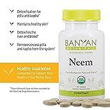 Banyan Botanicals Neem Tablets - USDA Organic