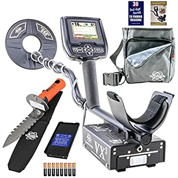 Amazon.com : Whites Spectra VX3 Metal Detector Diggers Special w/DigMaster & Utility Pouch : Garden & Outdoor