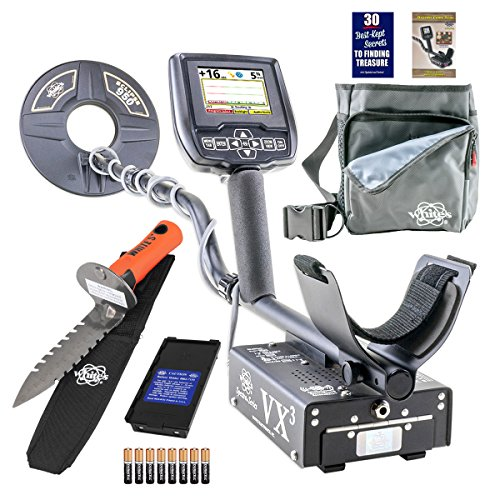 Whites Spectra VX3 Metal Detector Diggers Special w/ DigMaster & Utility Pouch by White's Electronics