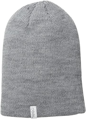 Coal Men's Frena Solid Unisex Beanie, HeatherGrey, One Size -