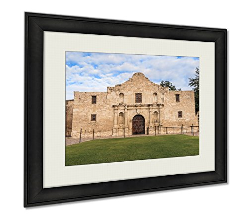 Ashley Framed Prints Historic Alamo At Twilight, Wall Art Home Decoration, Color, 30x35 (frame size), AG6515983 by Ashley Framed Prints