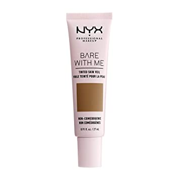 foto de Amazon.com: NYX PROFESSIONAL MAKEUP Bare with Me Tinted Skin Veil ...