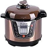 Aobosi3Qt 8-in-1Multi-functional ElectricPressureCooker,Slow Cooker,RiceCooker,Yogurt Maker,Warmer,Free Steamer Rack, Cookbook and Extra Sealing Ring |Non-stick Cooking Pot