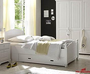 Einzelbett kinder  Landhaus Bett Einzelbett für Kinder und Jugendzimmer 61030 Kiefer ...