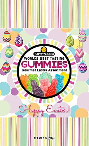 Happy Yummies Worlds Best Tasting Gourmet Gummies Easter Assortment 7oz