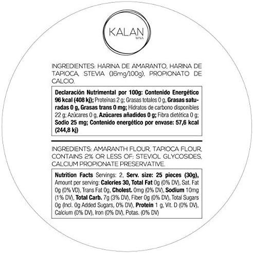 Obleas mexicanas Kalan, aperitivo de obleas de harina de ...