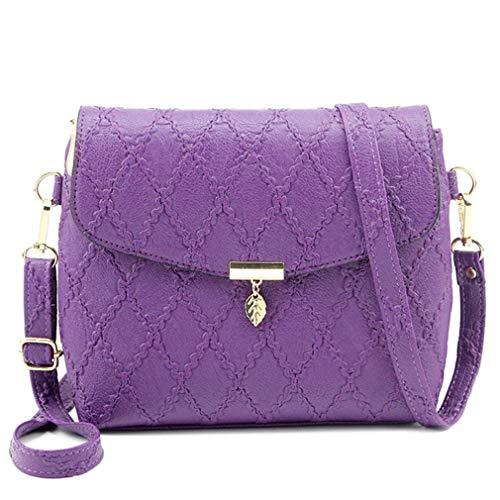Main Purple Bandoulière Messenger Sacs À Femme Bagcross Pw7PvfB