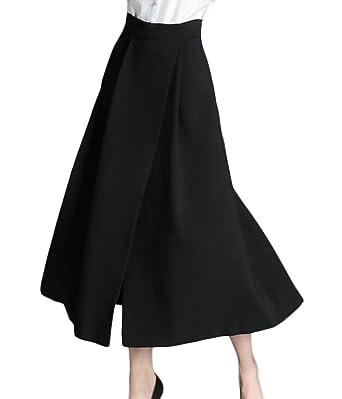 Black Floor Length Skirts