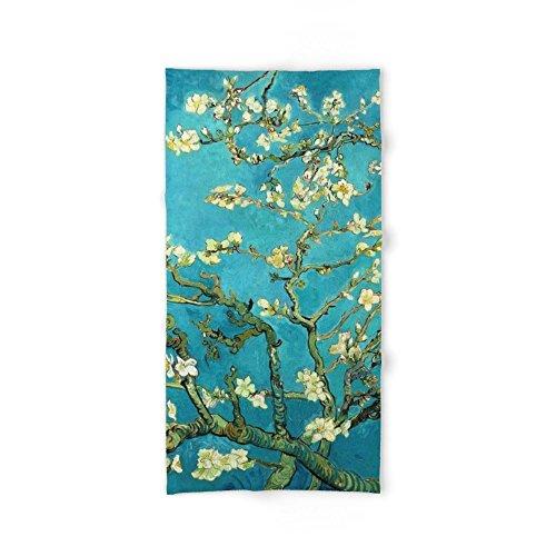 Society6 Vincent Van Gogh Blossoming Almond Tree Bath Towel 64