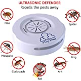 Ultrasonic Pest Repeller Repellent Indoor Pest Control Devices get rid of Rats Mice Ants Roaches Mosquitoes Insects Flea Spiders other pest repell device new generation for home garden garage office