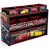 Delta Children Deluxe Multi-Bin Toy Organizer, Disney/Pixar Cars