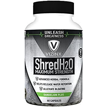 Amazon.com: Vizinx Shred H2O Herbal Diuretic - #1 Formula