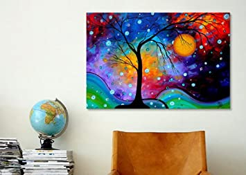 iCanvasART MDN118 Winter Sparkle by Megan Duncanson Canvas Print, 40 by 26-Inch, 0.75-Inch Deep
