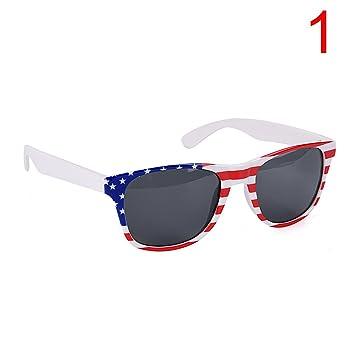 05a53726a0 Osun Fancy Dress Glasses British America US UK Flag Party Glasses Novelty  Sunglasse