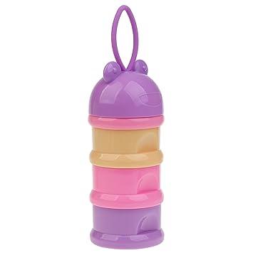 Convenient Travel Baby Kid Milk Powder Formula Dispenser Container Pot Box